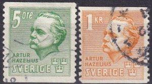 Sweden #324-5 F-VF  Used CV $4.25  (Z5236)