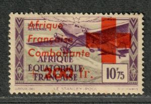 Fr Equatorial Africa Sc#CB6 M/LH/VF, Cv. $400