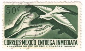 Mexico, Scott # E18(3), Used