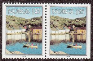 Norway 747 MNH Pair CV $1.50