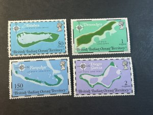 BR.INDIAN OCEAN TERRITORY # 82-85--MINT NEVER/HINGED----COMPLETE SET----1975