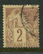 French Colonies #47 Used
