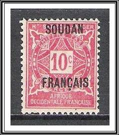 French Sudan #J2 Postage Due NG