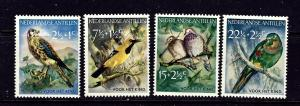 Netherlands Antilles B35-38 MNH 1958 Birds