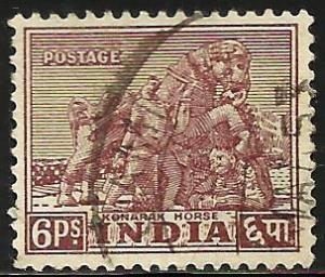 India 1949 Scott# 208 Used