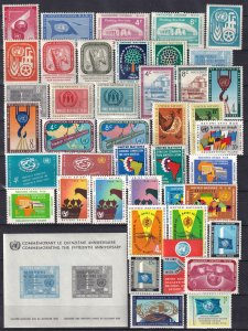Worldwide  Lot-   United Nations MNH Complete Sets  (Z6115)