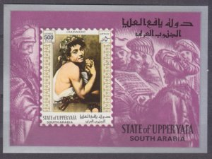 1967 State of Upper Yafa 73/B13b Painting 6,00 €