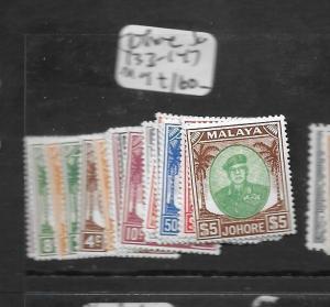 MALAYA JOHORE (PP0109B) SULTAN SG 133-147  MOG