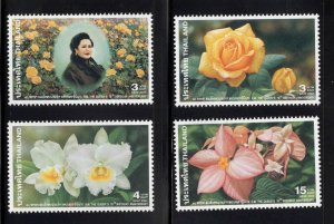 Thailand  Scott 2030-2033 MNH** Queen Sirkiti stamp set