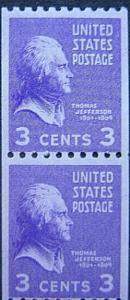 U. S. 839-851 Mint Pairs SCV$63.00 Low Start