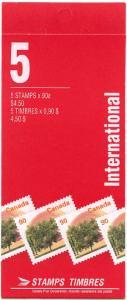 Canada USC #BK181Ab Cat. $27.50 90c Elberta Peach Complete Booklet