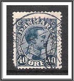 Denmark #118 King Christian X Used