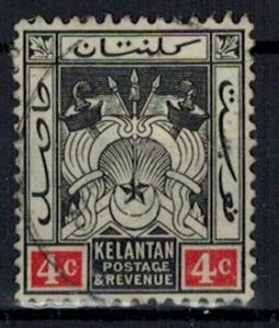 Malaya - Kelantan - Scott 3