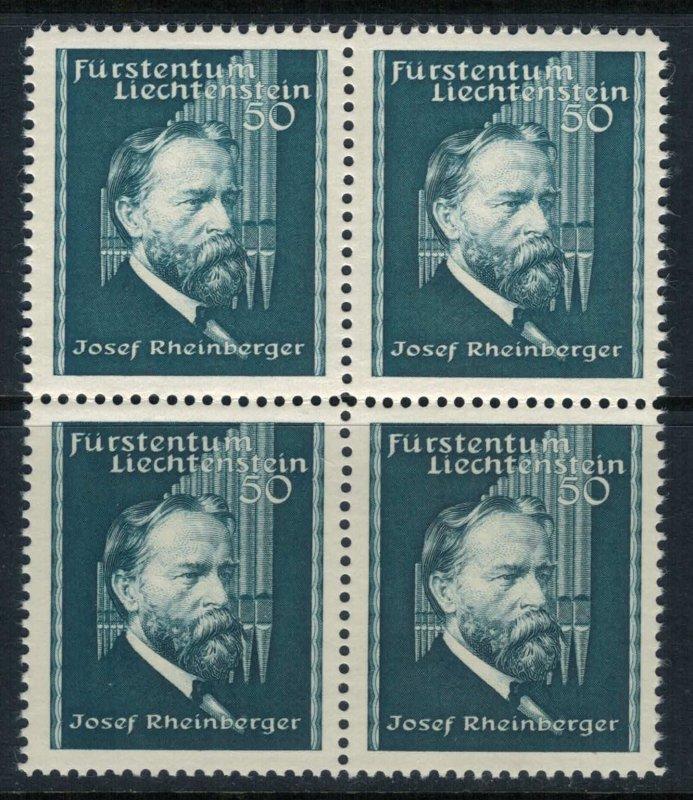 Liechtenstein #153* NH Block of 4  CV $9.60