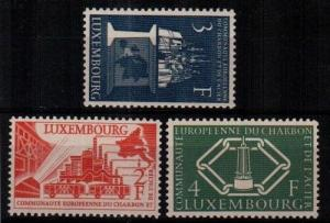 Luxembourg Scott 315-17 Mint NH (Catalog Value $55.00)
