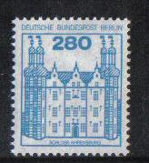 Germany  Berlin 1982  MNH  German castles 280 Pf  #