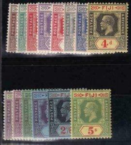 Fiji 1912-1923 SC 93-106 LH Set