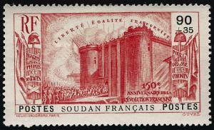 French Sudan French Revolution B4 VF hr $11...Make me an Offer!