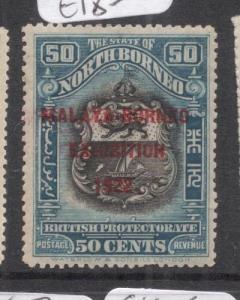 North Borneo SG 275 MOG (2deg)