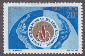 Burkina Faso 185 Human Rights 1968