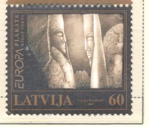 Latvia Sc 571 2003 Europa stamp mint NH