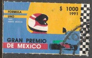 MEXICO 1697, Formula 1 Grand Prix. Used. VF. (1286)
