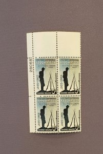 1182, Appomatiox, Plate Block UL, Mint OGNH, CV $3.00
