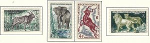 French Equatorial Africa 195-98 MLH cv 3.30 BIN $1.55