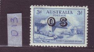 J23789 JLstamps 1932 australia mh #o13 unwmk