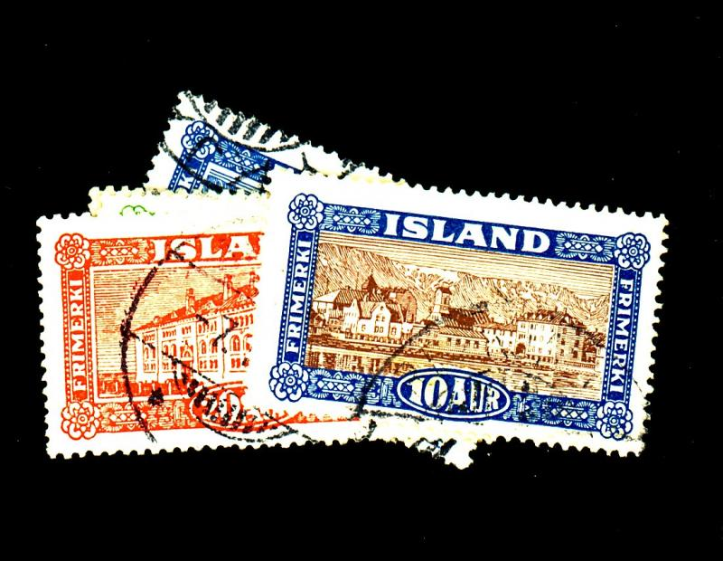 Iceland #144-8 Used F-VF Cat$26.25