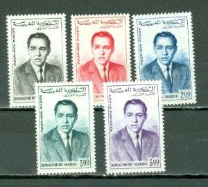 MOROCCO 1962 AIR #C5-9...SET...MNH...$9.50