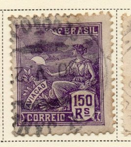 Brazil 1920-21 Early Issue Fine Used 150r. NW-12018