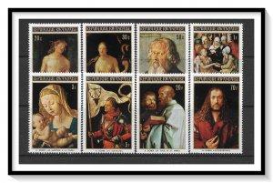Rwanda #423-430 Durer Paintings Set MNH