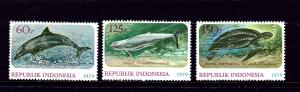 Indonesia 1064-66 MNH 1978 Wildlife Protection   #2