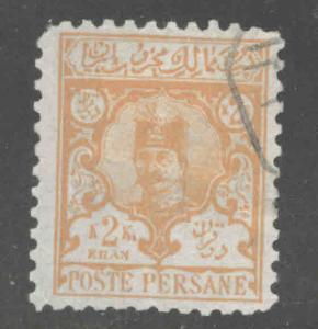IRAN Scott 88 Used1891 stamp CV$25