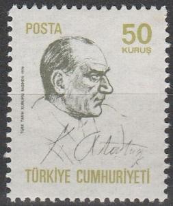 Turkey #1835  MNH F-VF  (V875)