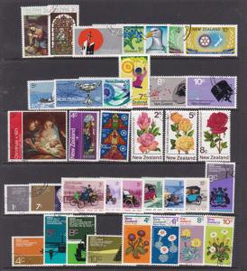 New Zealand a small lot of early decimal sets/pairs/singles used