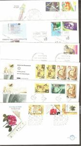 Netherlands FDC complete year 1988 (LOOK) [R00530]