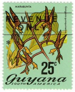 (I.B) British Guiana (Guyana) Revenue : Duty Stamp 25c (Type II)