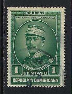 DOMINICAN REPUBLIC 311 VFU Z4256-1