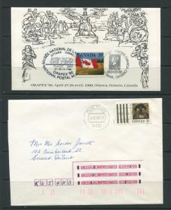 Canada 1983 1990 0 (2) Covers Special Cancel