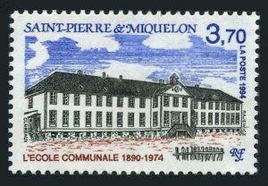 St Pierre & Miquelon 607,MNH.Michel 684. Parochial School,1994.