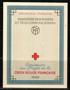 France Scott B337a Mint NH booklet