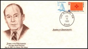 US America's Immigrants John Von Neumann 1989 Cover