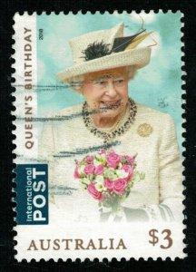 Queens Birthday, $3, Australia (T-7126)