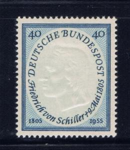 Germany 727 Hinged 1955 issue