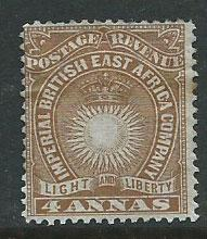 British East Africa SG 9 MH