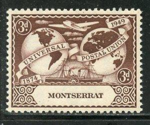 Montserrat #109, Mint Hinge. CV $ 1.50