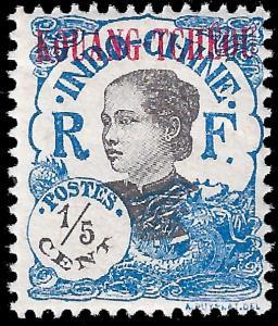 France-Kouang Tcheou 1923 YT 53 mlh