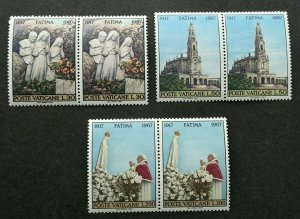Vatican 50th Anniv Of Apparitions Of Fatima 1967 Sculpture (stamp) MNH *see scan